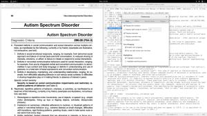 distraction-free-gedit-okular-menu